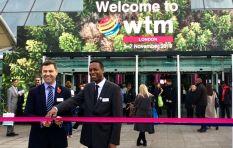 SA delegation in London at World Travel Market holds SA flag high
