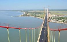 Africa's longest suspension bridge over Maputo Bay cuts down travel time