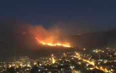 Sunday night: Lion's Head fire not contained, structures not yet under threat