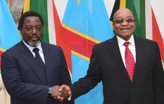 Joseph Kabila's state visit to SA met by protests outside Union Buildings
