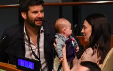 [PICTURES] NZ prime minister makes history with first baby to attend the UN