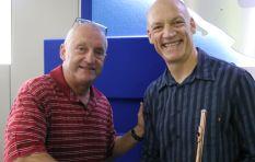 Wouter Kellerman flute-boxes LIVE on John Robbie's show
