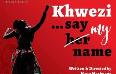 Khwezi's story isn't a political story; it's a human story says Napo Masheane