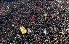 Stampede at Iran general's funeral leaves over 30 dead