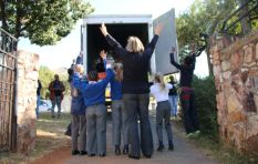 702 Truck of Love with SPAR - Xolani Gwala visits Baby Moses Baby Sanctuary