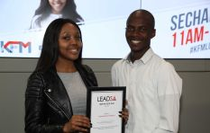Lead SA Youth Hero using Slam Poetry to empower other young people
