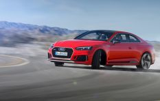 Petrolheads go gaga for the Audi RS5 Coupé