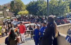 SABC: 'Three workers are receiving medical treatment for smoke inhalation'