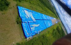 [PICTURES] Millions of bottles of water abandoned on runway in Puerto Rica