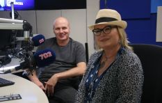 [WATCH]  Mango Groove's John Leydon and Claire Johnston in studio