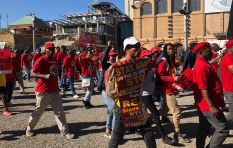Thousands turn out for Saftu national strike in Joburg and Cape Town.