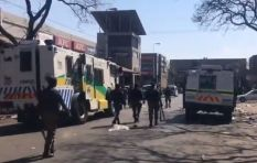 Tshwane CBD 'a war-zone' as protesters clash with police, bus services suspended
