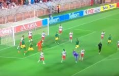 WATCH: SA 'keeper scores stunning overhead kick in last minute