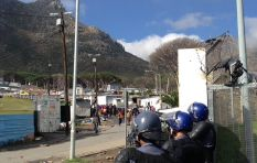#HoutBayProtest: Man hospitalised, more rubber bullets and stun grenades fired