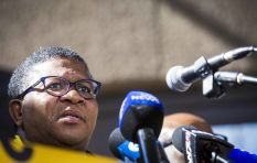 Words you will hear today: Journalistic gymnastics (Mbalula)