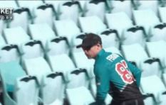 [WATCH] Cricket player fetching ball from stands has social media in stitches