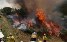 George residents begin evacuations as Outeniqua blaze continues