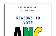 Reasons to vote ANC: The blank, fast selling manuscript