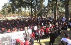 #TotalShutdown: Protesters injured in scuffle with police at Union Buildings