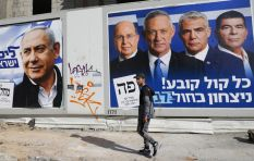 Early exit polls suggest Netanyahu and Gantz neck and neck in Israeli elections