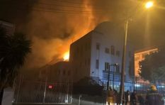 'It was like a horror movie' - eyewitnesses describe synagogue fire