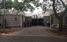Search and seizure operation at Gupta compound