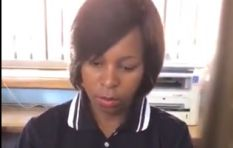 [WATCH] Home Affairs employee too busy on her phone to care