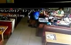 Spur releases CCTV footage of man grabbing woman's child