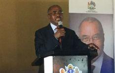 Jacob Zuma was beside Premier Willies Mchunu when he fainted during KZN Sopa