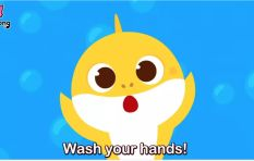 [WATCH] Wash your hands doo doo doo wash your hands, latest hit from Baby Shark