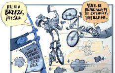 [Cartoon] The Cape Argust Cycle Race