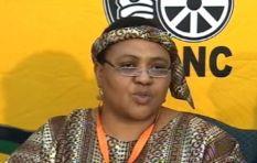 Thoko Didiza takes to the streets of Tshwane