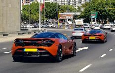 Keep an eye out for a convoy of McLaren supercars in Cape Town