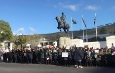 'I feel suffocated in South Africa' - learners protest outside Parliament