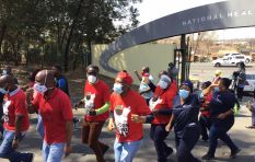 Nehawu goes ahead with strike 'to send a clear message regarding PPE'