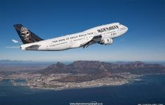Cape's rock star photographer snaps Iron Maiden's Ed Force One in flight