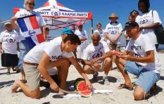 Tweeps not chuffed with Cape Party's video of watermelon 'slaughter' on CT beach