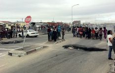 Joe Slovo unrest propelled by unknown group, 'not a service delivery protest'