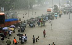The World View: Flooding causes Mumbai building collapse