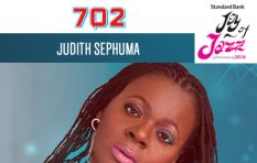 Judith Sephuma plays on the Afternoon Drive show