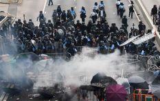 China condemns Monday's protests in Hong Kong as 'criminal'