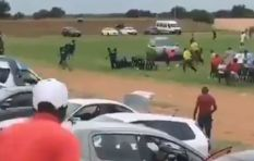 [WATCH] Car speeding through soccer field narrowly missing players goes viral