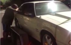 [Watch] Dad breaks down when reunited with car sold to pay wife's bills