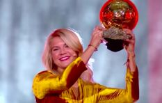 [VIDEO] First female Ballon d'Or win marred by sexist twerking comment