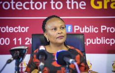 Public Protector lays a counter charge against State Security Minister
