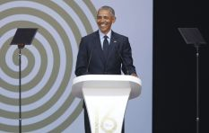 [LISTEN] Barack Obama talks racism, capitalism during Nelson Mandela lecture