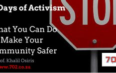 #16Days: What You Can Do To Make Your Community Safer