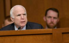 US senator John McCain calls for more bipartisan politics