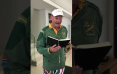 'You've lifted a nation, you've lifted us up' - author of Springboks poem speaks