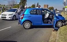 [VIDEO] One suspect dead in Northcliff hijacking